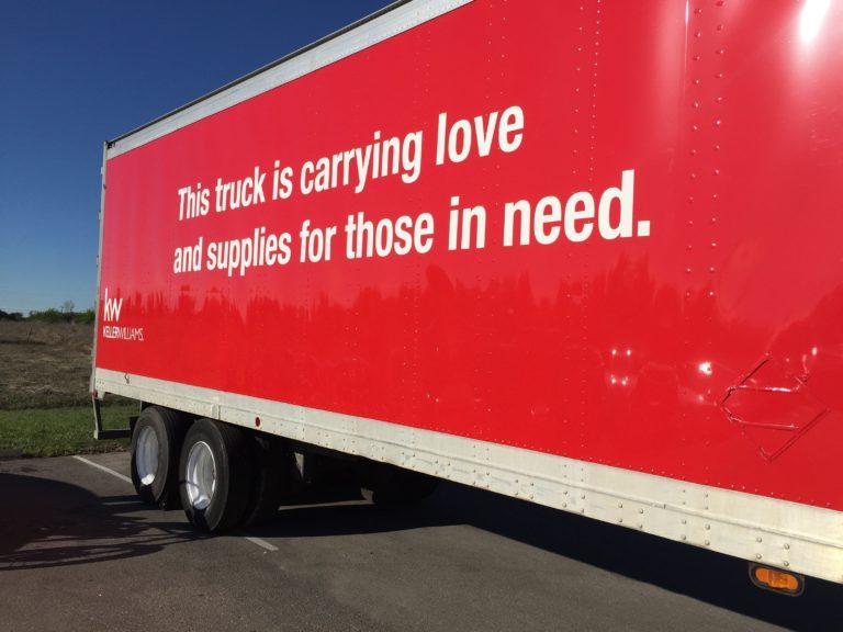 KW Hurricane Harvey Relief Truck_side_view
