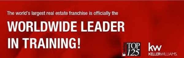 Keller Williams Worldwide Leader in Training Banner