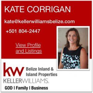 Kate Corrigan KW Belize Real Estate Agent
