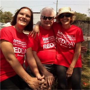 RED DAY Keller Williams Belize Agents and Friends