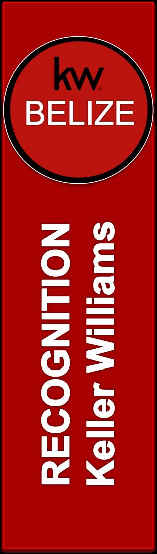 Keller Williams Recognition Banner