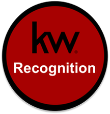 Keller Williams Recognition Button