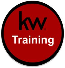 Keller Williams Training Button