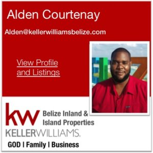 Alden Courtenay Keller Williams Belize Agent
