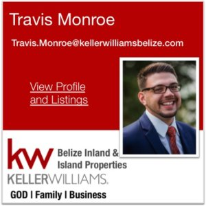 Travis Monroe Keller Williams Belize Agent